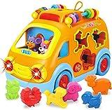 REMOKING Musik Baby Spielzeug, Spielzeug Auto, Kleinkinder Motorikspielzeug, Mädchen Jungen...