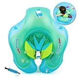 HONGCI Baby Schwimmring Baby Float Schwimmreifen mit Pumpe, Baby Schwimmen Ring Baby Schwimmhilfe...