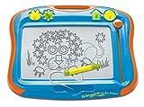 TOMY T6555 Magnettafel für Kinder, Magnet Maltafel, Megasketcher, Mehrfarbig, hochwertiges Kinderspielzeug, Zaubertafel, bunt, ohne Wabenstruktur, fördert die Kreativität, ab 3 Jahre