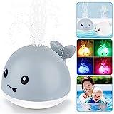 Baby Badespielzeug Wasserspielzeug, Whale Spray Induction Schwimmende Baden Spielzeug mit Licht und...