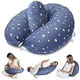Bamibi ® Stillkissen Seitenschläferkissen Schwangerschaftskissen zum Schlafen Lagerungskissen mit...