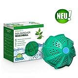 WASCHKLAR Öko Waschball für die Waschmaschine | Eco Waschkugel zum Waschen ohne Waschmittel | Allergiker- und umweltfreundlich | antibakteriell & BPA Frei