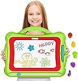 Geekper Magnetische Maltafel Zaubertafeln für Kinder, 41 x 33 x 3 cm Groß Magnetische...