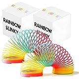 THE TWIDDLERS 2 Riesige Regenbogen Spiralen