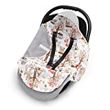 EliMeli Einschlagdecke für Babyschale 100% Baumwolle - Leichte Baby Decke für Autositz aus...