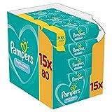 Pampers Baby Feuchttücher Fresh Clean, Dermatologisch Getestet, 1200 Tücher (15 x 80)