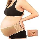 Bauchgurt Schwangerschaft - Weich & Atmungsaktiv Stützgürtel Schwangerschaft - Bauchband...