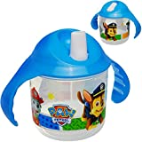 alles-meine.de GmbH Trinklernbecher / Trinklerntasse / Trinklernflasche - Paw Patrol - Hunde - 250 ml - BPA frei - auslaufsicher - Baby Kinder - einklappbarer Trinkschnabel - Sch..