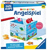 Ravensburger ministeps 4174 Mein erstes Angelspiel, Erstes Geschicklichkeitsspiel mit weicher Stoff-Angel, Spielzeug ab 2 Jahre