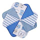 Momcozy Baby Waschlappen, 8 Stück Baby Handtücher Set, Weiche Baby Gesichtstücher, Spucktücher...
