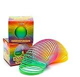 L+H Regenbogenspirale groß XXL im 2er Set | Premium QUALITÄT | Ø 7,5 cm | magische Bunte...