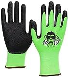 3 Paar ACE Junior Garten-Arbeitshandschuhe - Schutz- & Bastel-Handschuhe für Kinder - EN 388 -...