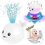 Sinoeem Kinder Schwimmende 2 in 1 Badespielzeug Wasserspielzeug Automatische Induktions Sprinkler...