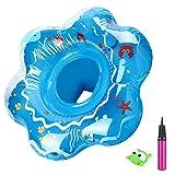 joylink Baby Schwimmring, Aufblasbarer schwimmhilfe Sicherer Sitz Baby Float mit Luftpumpe, Baby...