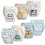 JackLoveBriefs Baby Kleinkind Töpfchen Unterwäsche Töpfchen Trainingshose (1 bis 6 Jahre, 7...