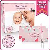 EINFÜHRUNGSANGEBOT Ovulationstest 50 Streifen - Fruchtbarkeitstest für Frauen - Teststäbchen für...