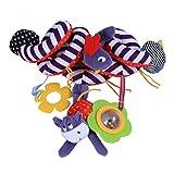 Newin Star Kinderwagen Spielzeug Activity Spirale Hängen Spielzeug mit Bell Ringing Nette Plüsch...