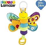 Lamaze Baby Spielzeug Freddie, das Glühwürmchen Clip & Go - hochwertiges Kleinkindspielzeug - Greifling Anhänger zur Stärkung der Eltern-Kind-Beziehung - ab 0-24 Monate