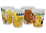 Disney König der Löwen 14721 Mehrwegbecher, Trinkbecher, Plastikbecher, Becherset, PP, 300 milliliters