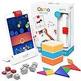 Osmo - Genius Kit für iPad - 5 praxisorientierte Lernspiele - Alter 6-10 - Mathematik, Rechtschreibung, Problemlösung und Kreativität - MINT
