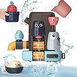 REMOKING Badespielzeug Set für Baby Kinder, Multifunktionales Badewannenspielzeug, Kleines...
