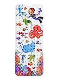 Norda® *NEU* rutschfeste Premium Badewannenmatte für Kinder. Geruchsneutrale Antirutschmatte Iduna. Extra Lange Badewanneneinlage 100x40cm mit kindlichen Motiven.