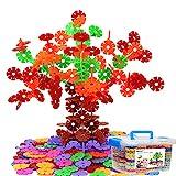 Genossen Kinder Spielzeug, Lernspielzeug Bausteine, Schneeflocken Set, Interlocking Ungiftig...