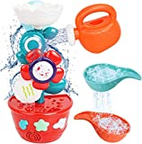 MOZOOSON Wasser Spielzeug für Baby Kinder ab 1 Jahr Badespielzeug als Geschenk für Geburtstag...