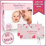MediVinius Ovulationstest mit 15, 30 oder 50 Streifen - Fruchtbarkeitstest für Frauen -...