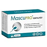 MascuPRO® Fertilität Mann - Fruchtbarkeit - Spermienproduktion + 60 Kapseln + L-Carnitin, L-...