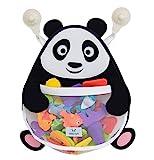 Nooni Care Bad Spielzeug Aufbewahrung, Premium Kinder Bad Spielzeugkorb Dicker Panda, mit Zwei...