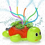 Kiztoys Wasserspielzeug Kinder Sprinkler Kinder,Sommer Wassersprinkler Spielzeug im Schildkröt...