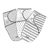 Baby Puckdecke Wickel-Decke von CuddleBug - 3er Pack pucktuch - Universal Verstellbare Schlafsack...