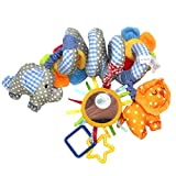 Leorx Spirale Spielzeug, Kinderwagen, Spielzeug, Bett hängen, Spielzeug, Baby-Autositz-Spielzeug...