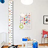 Kinder Messlatte,Kinder Messlatte Wachstum Wall Chart Höhe Diagramm Art zum Aufhängen Herrscher für Kinder Schlafzimmer Kinderzimmer Kinder-Schlafzimmer-Kinderzimmer-Wanddekorationen (B)