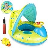 joylink Baby Schwimmring Aufblasbares Kinderboot Abnehmbaren umweltfreundlich PVC Schwimmhilfen Aufblasbares Kinderboot Beach Sommer Hingucker für Baby Float Pool