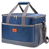 VANWALK Kühltasche Picknicktasche Lunchtasche Thermotasche Oxford-Tuch wasserdichte für Camping Strand Reisen Kind Arbeit (Gross)