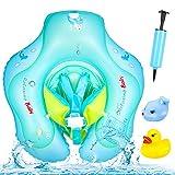 Yosemy Baby Schwimmring, Baby Schwimmt Ring Verstellbare Aufblasbare Schwimmer, Baby Pool Schwimmen...