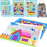 Steckspielzeug Mosaik Steckspiel Pädagogisches Kinderspielzeug Kreatives Spielzeug Jungen Mädchen...