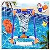 Pool Spielzeug für Erwachsene Kinder Wasserspiele Floating Basketball Korb Hoop Wasserspielzeug...
