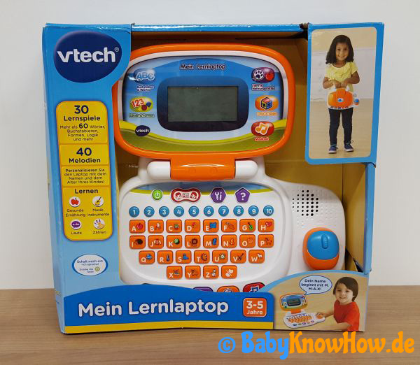 Kinder Lerncomputer Test