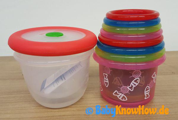 Babynahrung Aufbewahrungsdose Test