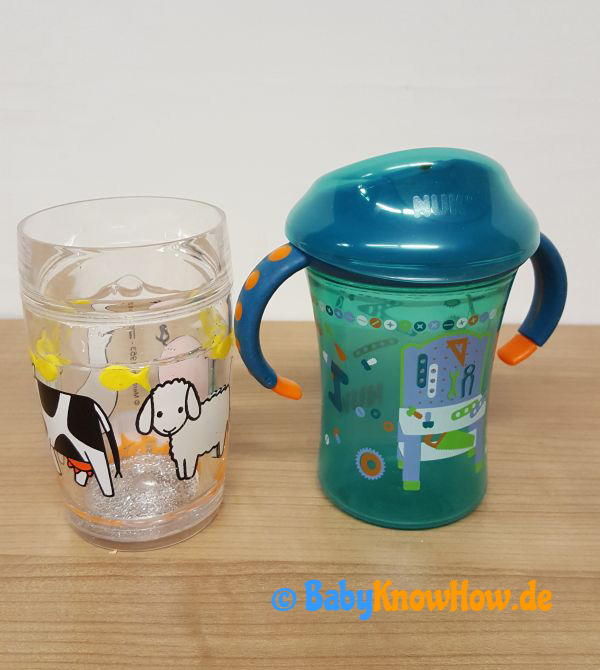 Kinder Becher Test