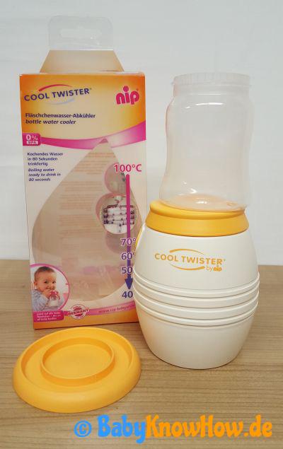 Babyflaschen Abkühler Test