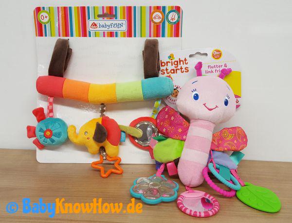 Kinderwagen Spielzeug Test