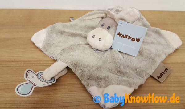 Baby Schnullertuch Test