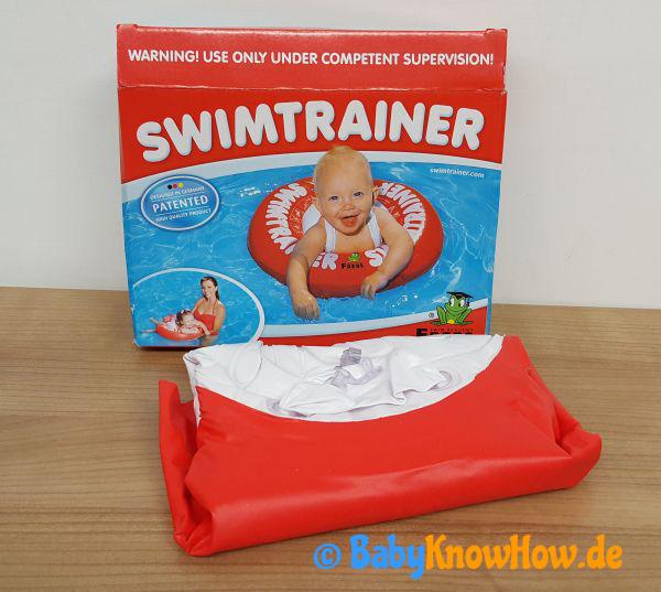 Baby Schwimmtrainer Test