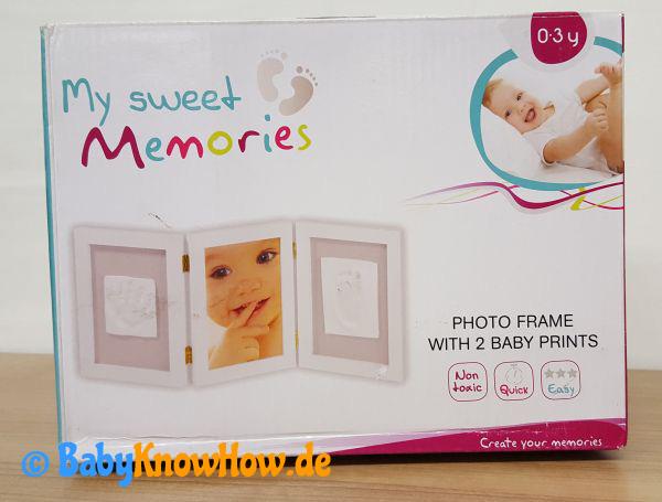 Baby Abdruckbilderrahmen Test