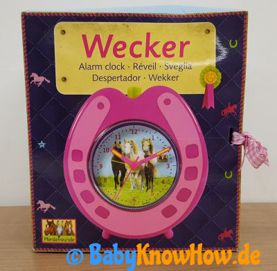 Kinder Wecker Test